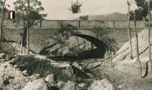 Aprile 1948 - Realizzazione nuovo ponte in frazione - Colle di San Ginesio