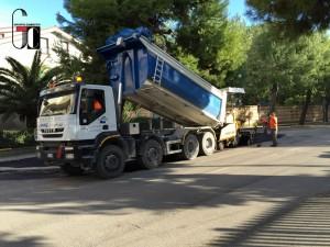 Lavori di Asfaltatura Porto San Giorgio 2016